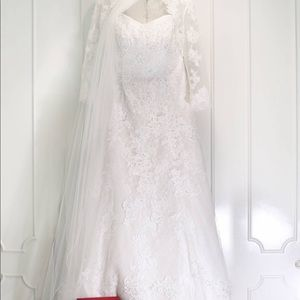 Jewel Lace Bridal Gown